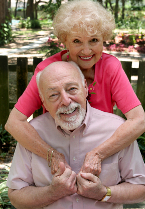 John – Retired – aged 79 and his second wife, Ann – age 68